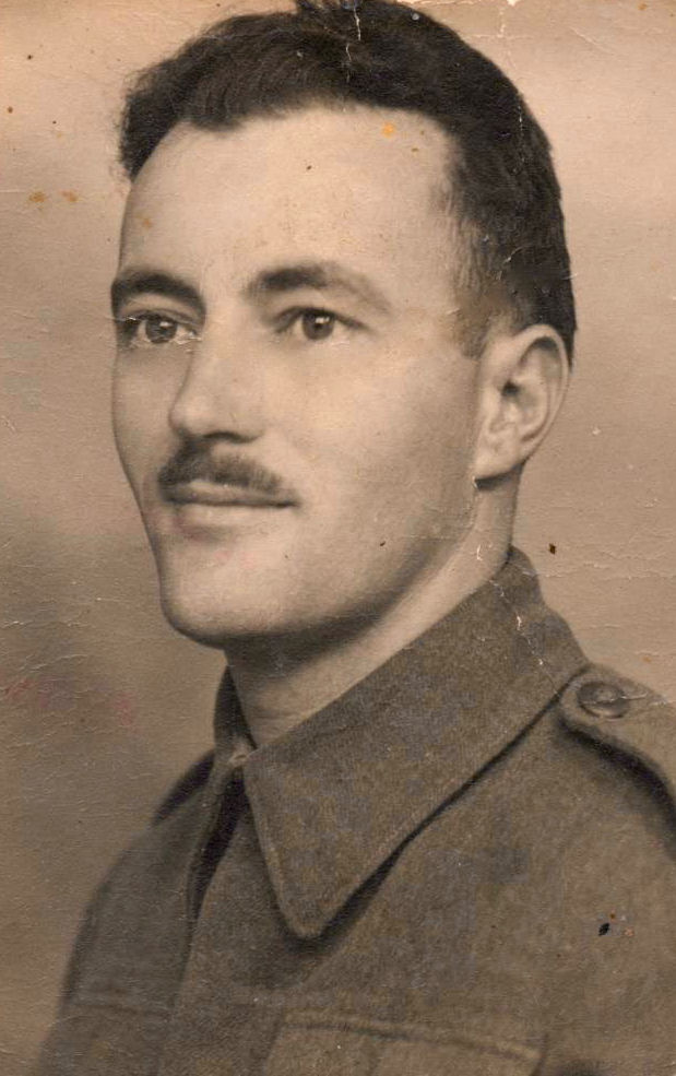 Photo of William Smallcombe– My uncle, Private William Smallcombe (undated photo probably taken when he joined the Black Watch in Montreal)