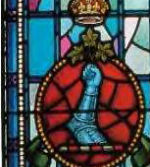 Memorial Stained Glass– Memorial stained glass window, Yeo Hall, Royal Military College of Canada