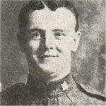 Photo of James William Bennett– Enlisted with the 34th Battalion in January 1915. Transferred to the 5th Canadian Mounted Rifles in 1916. Reported missing for one year. Then reported killed in action, October 1, 1915.
