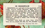 Article– In honoured memory.