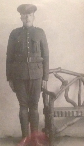 Photo of ALVIN LENNOX– My Grand Uncle Alvin U. Lennox, served as a Private and was killed in action in France, during WWI.