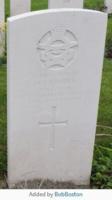 Grave marker– Photo courtesy of Bob Boston, find-a-grave volunteer