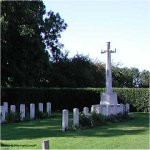 Scopwick Church Burial Ground– There are 37 Canadian airmen buried at Scopwick who lost their lives while stationed at Digby, Lincolnshire, United Kingdom. They include an American airmen who served with the RCAF, P/O John G Magee, author of the poem 'High Flight'.