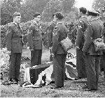 Graveside service– Graveside service Scopwick 1941