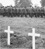 Paying last respects– 409 Squadron Scopwick 1941