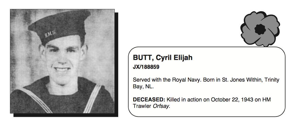 Photo of ELIJAH CYRIL BUTT