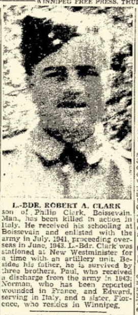Photo of ROBERT ALEXANDER CLARK