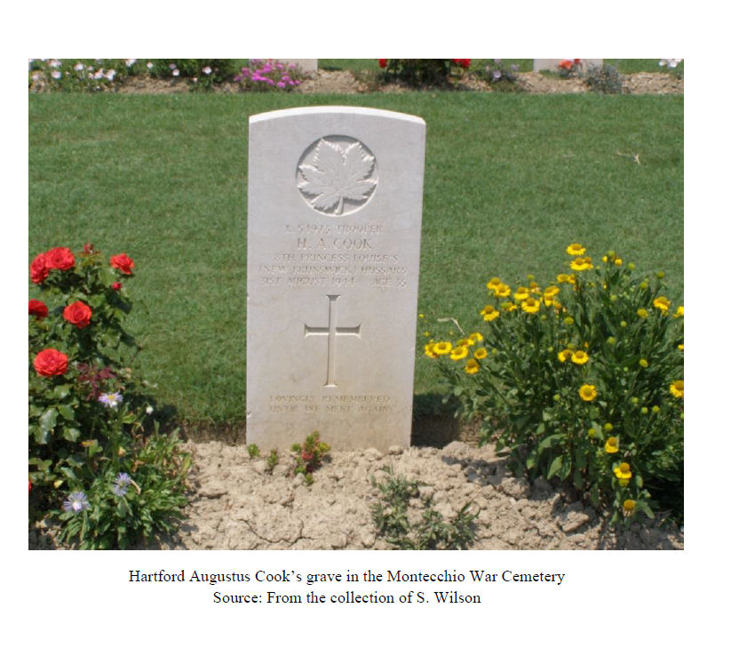 """Biography– Belleisle Regional High School (2014) - """"Lest We Forget""""  In 2014, the grade 11 Modern History students at Belleisle Regional High School continued to write biographies for soldiers from the local area who died during the First and Second World Wars."""