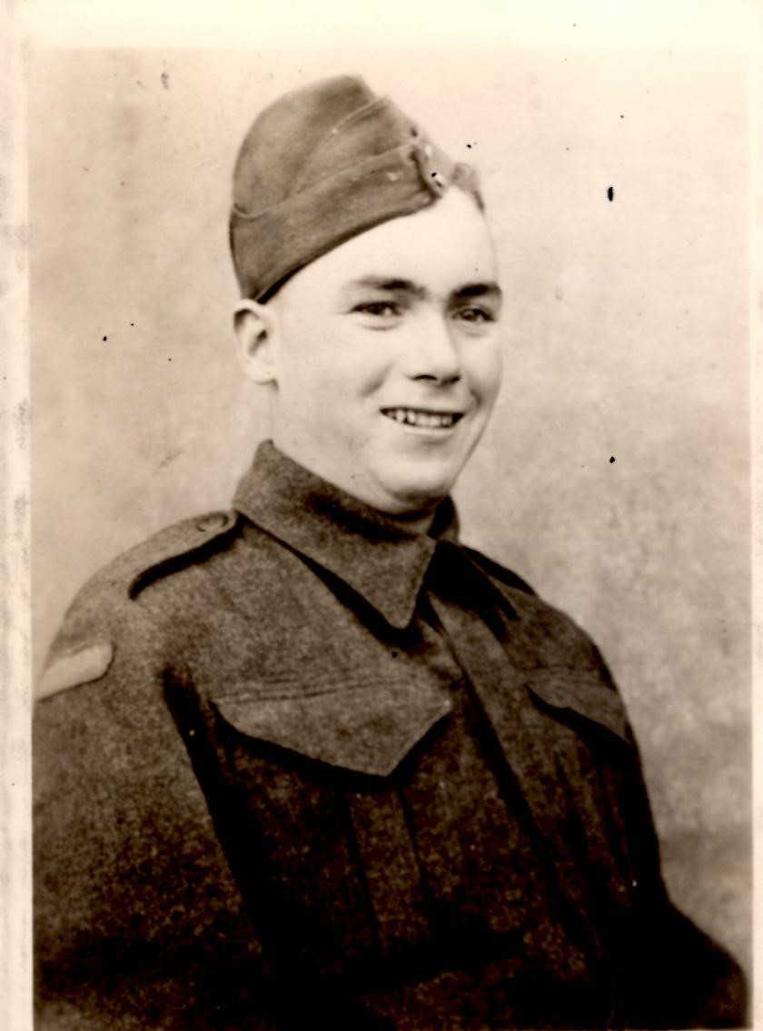 Photo of Claire Henry– Image of Sapper Claire Henry in Uniform, Courtesy of Ancestry.ca