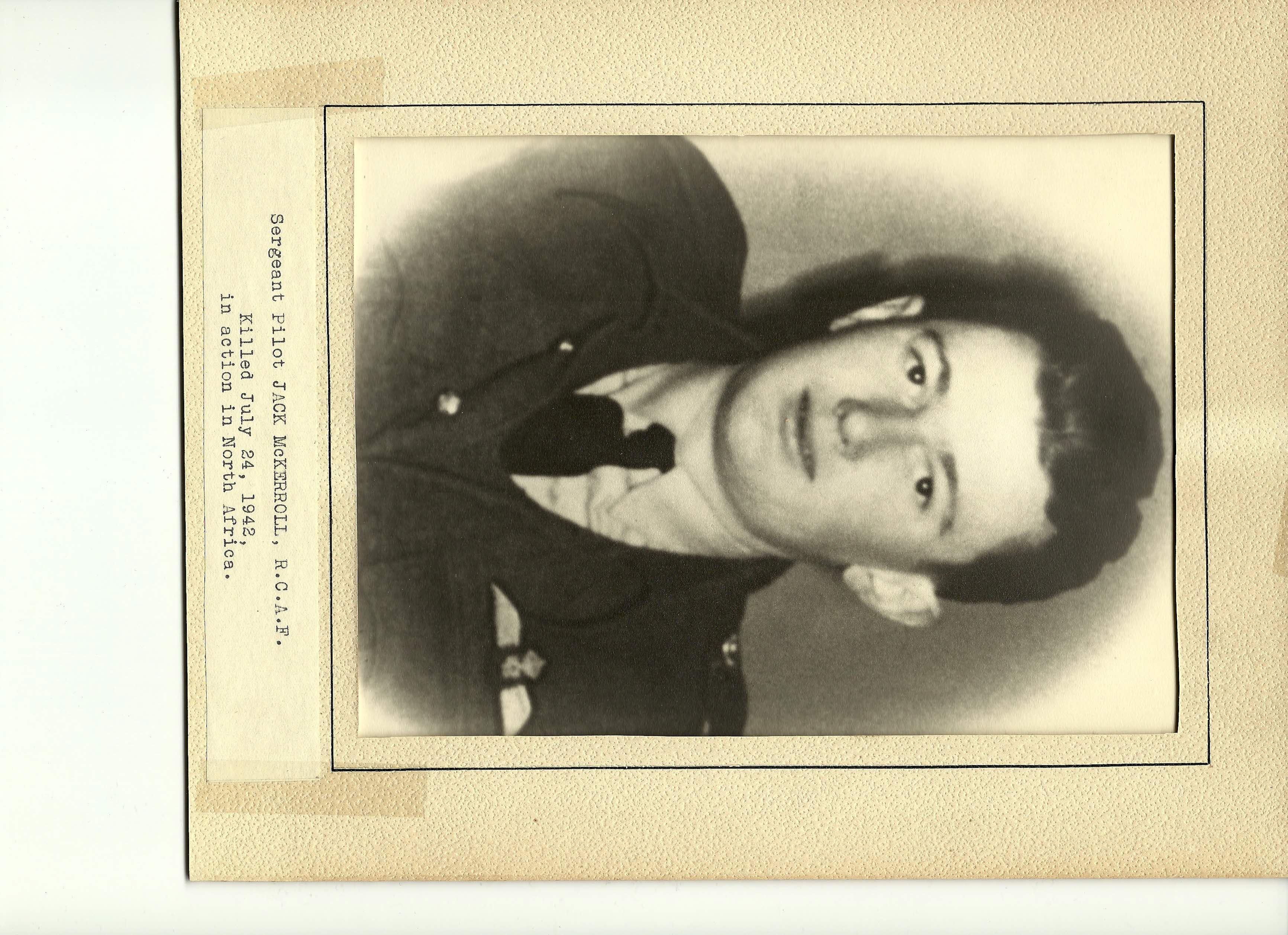 Photo of JOHN MALCOLM MCKERROLL