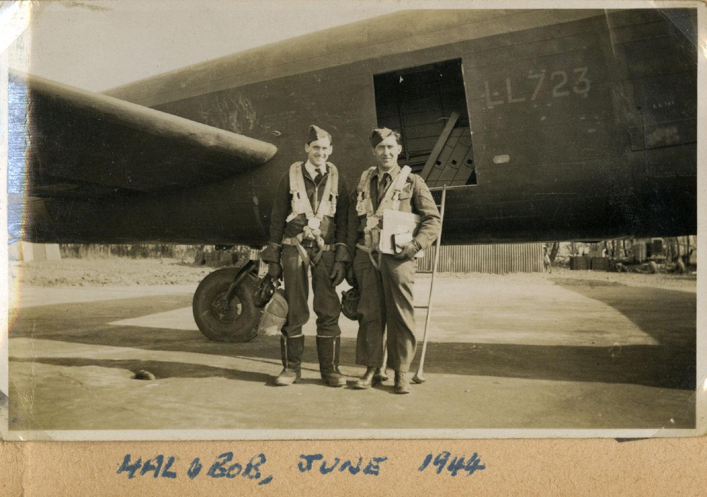 Harold Truscott et Bob Whitson