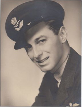Photo of Jack Zavitz– In memory of the employes from the Bank of Nova Scotia who went away to war and did not return. Submitted for the project, Operation: Picture Me