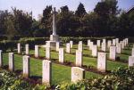 Cemetery– St. Catherine Churchyard, Barmby-on-the-Moor (CWGC)