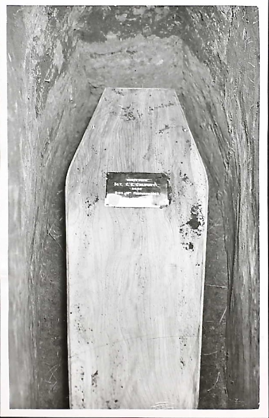 Photo of coffin