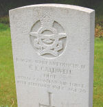 Grave Marker– Photo taken on May 17, 2008 at St. Mary's Church, Brandesburton.