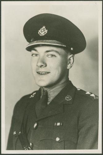 Photo of George Derek Gibsone– Lieutenant George Derek Gibsone Courtesy McGill University Archives