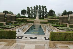 Cross of Sacrifice– Cassino War Cemetery - May 2013