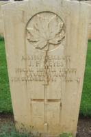 Grave marker– Cassino War Cemetery - May 2013