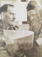 Photo of SHOLTO PATON MARLATT– Marlatt is on the right. Submitted for the project, Operation Picture Me