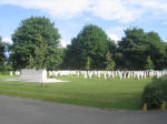 Cemetery– This is a view of the WW2 section of Grimsby (Scartho Road) Cemetery where Robert Cox is buried.