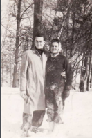Photo of William Norman Gould– Bill Gould and Doris Bennet. Submitted for the project Operation Picture Me