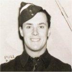 Photo of Kimble Calvin Sanderson– Kimble was a crew member of a Wellington Bomber.