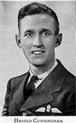 Photo of Harold Cunningham– Picture from West Hill High School Annual 1944 (Montreal). Photo supplied by McGill University.