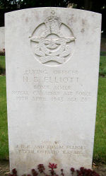 Grave Marker– Photo provided by The Commonwealth Roll Of Honour Project. Volunteer Owen D