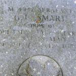 Grave Marker– Photo courtesy Tom Jenkins, Broxburn, Scotland