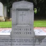 Memorial– Photo courtesy Tom Jenkins, Broxburn, Scotland