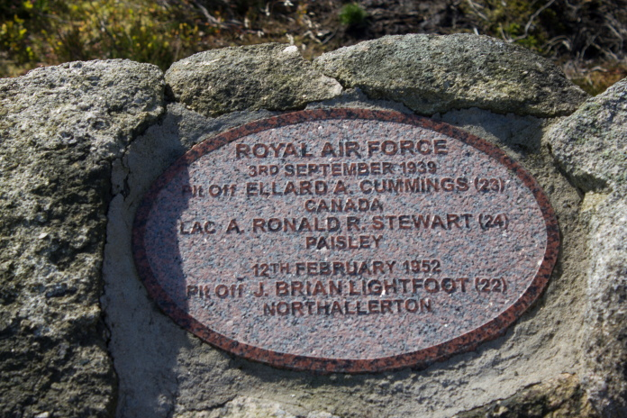 Memorial– Pilot Officer Ellard Alexander Cummings, Service Number 40803 Royal Air Force who died September 3, 1939 at 3:00 PM. First Canadian killed on active service overseas during Wold War II.