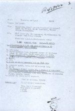 Telegram– Immediate telegram to report crash of Douglas to RAF HQ  Source: Whitehouse via Archives Canada