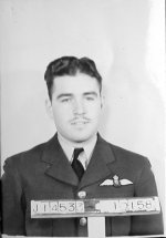 Photo of Donald Banbury Douglas– This RCAF photo shows Douglas after he achieved his Wings. (25 Sept 43) Source: Whitehouse via Archives Canada