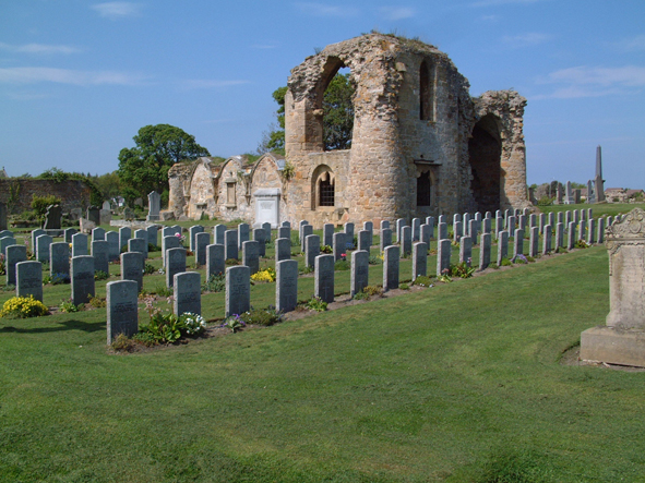 Kinloss Abbey Burial Ground