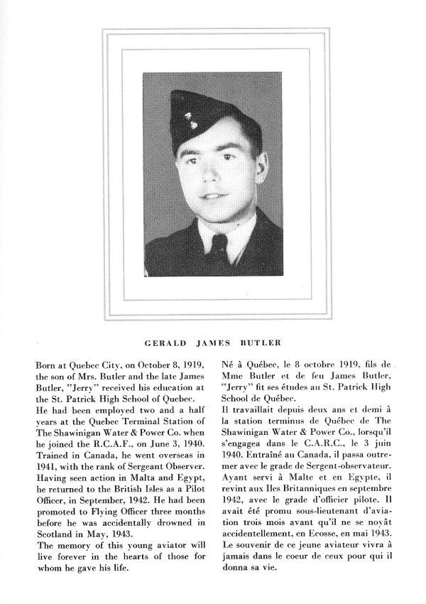 Photo of Gerald James Butler