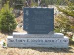 Memorial– The Robert E Howlett  monument located at the corner of The Robert E.Howlett Memorial Drive and Heavy Tree Road, St. John's , Newfoundland & Labrador