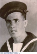 """Picture of Henry O'Neil– """"Picture of Henry in his uniform during the Second World War"""""""