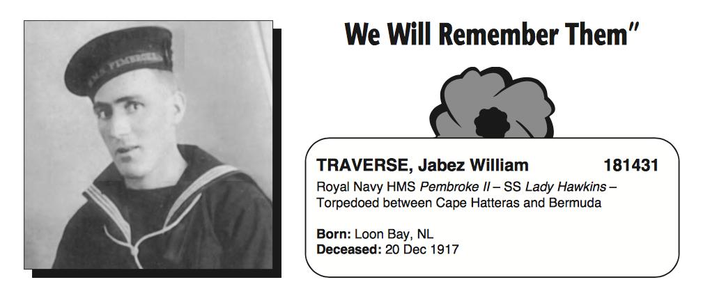 Photo of JABEZ WILLIAM TRAVERSE