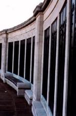 Chatham War Memorial– The panels of the Chatham War Memorial.