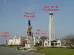 Plymouth Naval Memorial– Courtesy of Chris Goddard website.