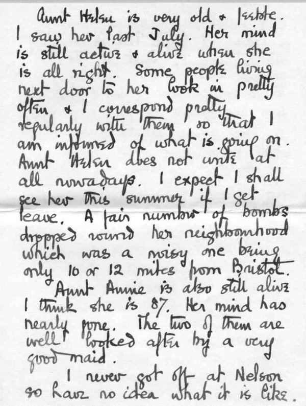 Letter to family, p.3