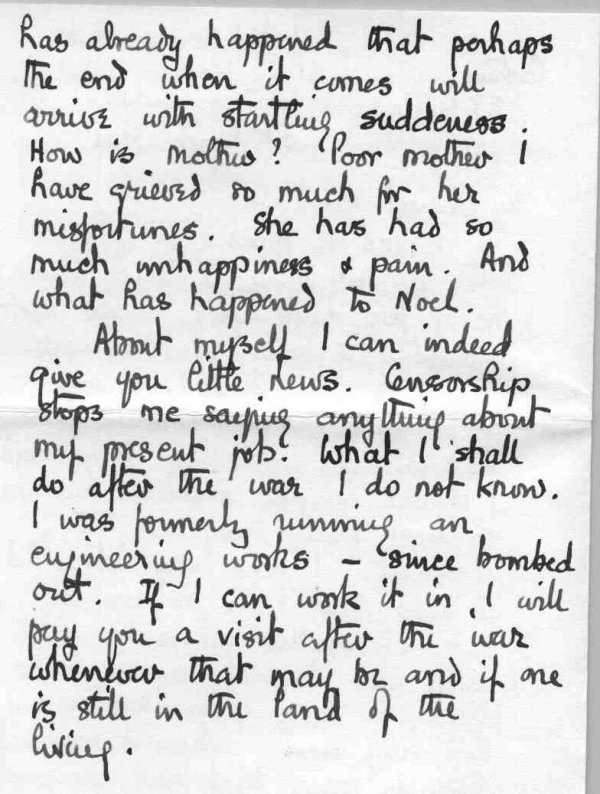 Letter to family, p.2