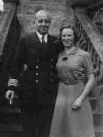Photo of Frederick Thornton Peters– Frederick Thornton Peters, VC, (1889-1942)and a girlfriend in England. Circa 1941.  Photo from the family collection. Mailed to his mother by the lady after the war.  F.T. Peters was never married and had no children. His two brothers died in action WWI. His sister, Mary Helen Dewdney (1887-1976)was my grandmother.