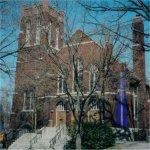 St. John's Anglican Church– St. John's Anglican Church on 288 Humberside Avenue in West Toronto.    Photo taken in May 2003.