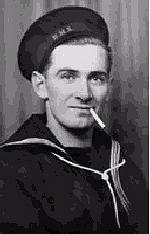 "Memorial– ""Augustus in his uniform."" Native of Newfoundland  Commemorated at Lowestoft Naval Memorial, Suffolk, United Kingdom"