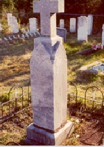 Monument– Grave marker of Isaiah Stringer, found in the United Church Cemetery,