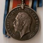 Medals– The British War medal and Victory medal.