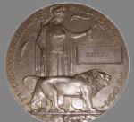 Photo de Death Penny – Photo de Death Penny, qui porte le nom du défunt, soldat John Lober.