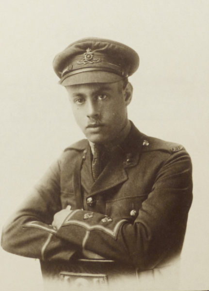 Photo of JOHN LABATT SCATCHERD– From the London Free Press September 1918. Submitted for the project Operation Picture Me