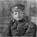 Photo of Albin Joseph Sumara– A tragic and ironic loss for the Sumara family, as young Albin, who emigrated to Canada from Czechoslovakia in 1904 at the age of 7 years, returned to Europe 11 years later as a soldier.  His nephew, named Albin Frank Sumara, was a soldier for Canada in World War II, the second Albin Sumara killed in Action.